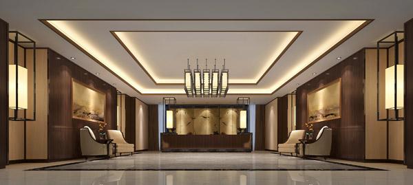 规划设计酒店大堂主要从以下三个方面入手。 1.入口大门 现代酒店的大门组合与当地的气候条件有关;其数量、大小与酒店等级有关。不同习俗、宗教地区对大门也有特别的要求。 酒店大门要求醒目宽敞,既便于客人认辨,又便于人员和行李的进出;同时要求能防风,减少空调空气的外逸,地面耐磨易清洁且雨天防滑。大门区亦即酒店迎送客人之处。因此,有的酒店作双道门.有的作一道门加风幕,其中一道门为超声波或红外线光电感应自动门。 门的种类分手推门、旋转门、自动门等。高级酒店门前有专人接待,门前有员工手工拉门迎候;一般酒店大堂用自动门